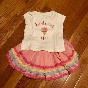 Birthday Girl Frilly Outfit